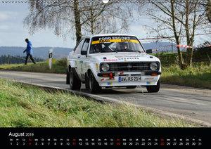 Asphalt und Schotter Rallye (Wandkalender 2019 DIN A2 quer)