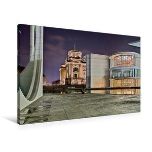 Premium Textil-Leinwand 90 cm x 60 cm quer Berlin - Abgeordetenh