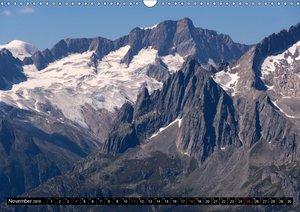 Fantastische Schweizer Bergwelt - Gipfel und Gletscher / CH-Vers