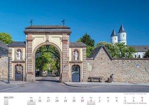 Rheinland 2020 Wandkalender A4 quer Spiralbindung 28 Blatt mit 5