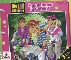 Die drei !!! 50: Freundinnen in Gefahr (3 Audio-CDs)