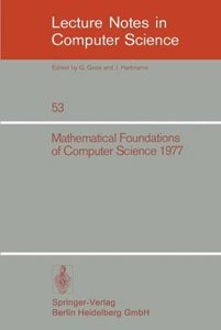 Mathematical Foundations of Computer Science 1977