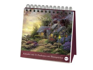 Kinkade Aufstell-Postkartenkalender - Kalender 2019