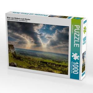 Blick vom Walberla nach Westen 1000 Teile Puzzle quer