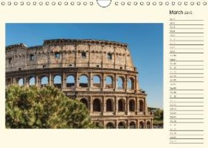 Rome Italy / UK-Version / Birthday Calendar (Wall Calendar 2015