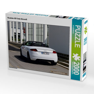 Roadster 8S Farbe Ibisweiß 2000 Teile Puzzle quer