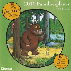 Der Grüffelo Familienplaner 2019