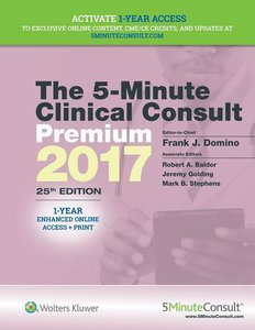 The 5-Minute Clinical Consult Premium