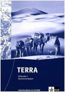 TERRA Erdkunde für Realschule in Bayern / Handbuch mit Kopiervor