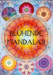 Blühende Mandalas