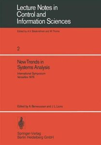 New Trends in Systems Analysis