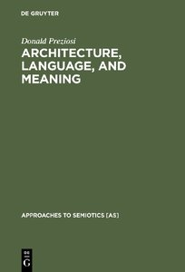 Architecture, Language, and Meaning