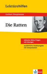Lektürehilfen Gerhart Hauptmann Die Ratten