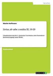 Livius, ab urbe condita III, 19-29