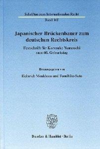 Japanischer Brückenbauer zum deutschen Rechtskreis
