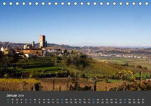Piemont im Herbst: Wein und Trüffel (Tischkalender 2019 DIN A5 q