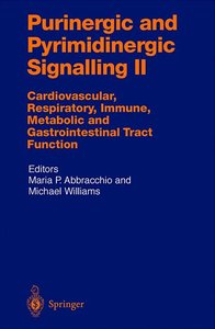 Purinergic and Pyrimidinergic Signalling II