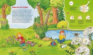 Ting. Was ist was Junior: Erlebe die Natur! Kinderbuch ab 4 Jahr