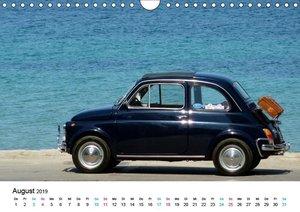 Fiat Cinquecento im Fokus (Wandkalender 2019 DIN A4 quer)