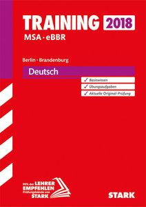 Training Mittlerer Schulabschluss Berlin/Brandenburg - Deutsch