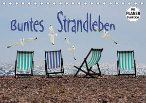 Buntes Strandleben