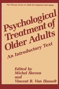 Psychological Treatment of Older Adults