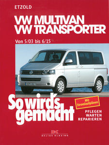 So wird's gemacht.VW Multivan- VW Transporter ab 5/03