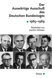Der Auswärtige Ausschuß des Deutschen Bundestages 1965-1969