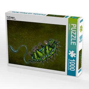 Tsathoggua 1000 Teile Puzzle hoch