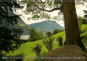 Der Zauber der Schweizer Berge (Wandkalender 2019 DIN A3 quer)