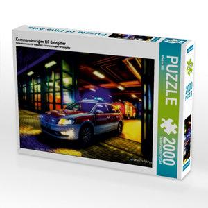 Kommandowagen BF Salzgitter 2000 Teile Puzzle quer