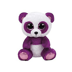 Boom Boom, Panda violett/weiss, 15cm