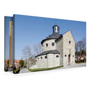 Premium Textil-Leinwand 75 cm x 50 cm quer Sankt Martinskirche H
