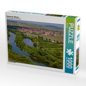 Kanurevier Altmain 1000 Teile Puzzle quer