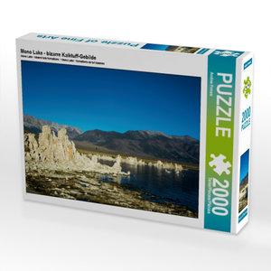 CALVENDO Puzzle Mono Lake - bizarre Kalktuff-Gebilde 2000 Teile