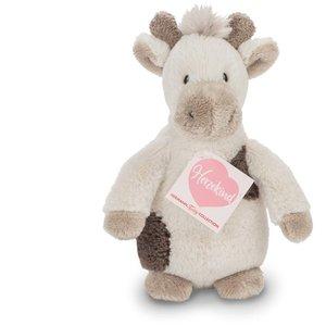 Teddy Hermann 93878 - Giraffenbaby Pünktchen, 20 cm, mit Rassel,