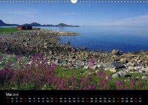 Kystriksveien und Trondheim (Wandkalender 2019 DIN A3 quer)