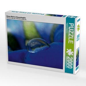 Kleine Welt im Wassertropfen 2000 Teile Puzzle quer