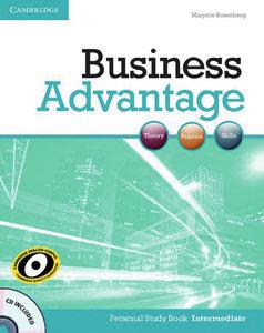 Business Advantage B1. Intermediate. Personal Study Book with 1