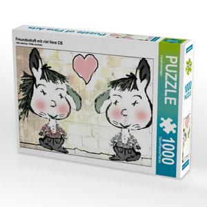 Kleiner Marienkäfer 1000 Teile Puzzle quer