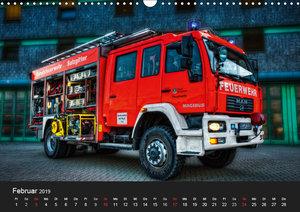Berufsfeuerwehr Salzgitter (Wandkalender 2019 DIN A3 quer)