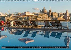Valletta - Malta (Wandkalender 2018 DIN A3 quer)