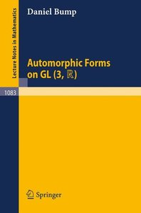 Automorphic Forms on GL (3,TR)