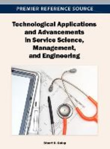 Technological Applications and Advancements in Service Science,