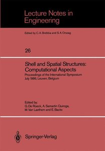 Shell and Spatial Structures: Computational Aspects