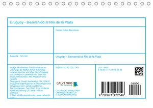 Uruguay - Bienvenido al Río de la Plata (Tischkalender 2020 DIN