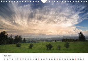 Gewitterwelten (Wandkalender 2019 DIN A4 quer)