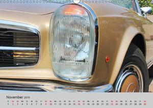 Der SL - Ästhetik pur von Mercedes Benz (Wandkalender 2019 DIN A