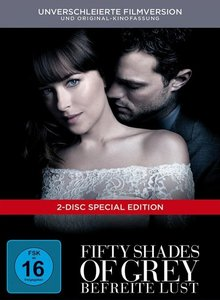 Fifty Shades of Grey - Befreite Lust, 2 DVD (DigiBook)