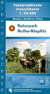 Naturpark Nuthe-Nieplitz 1 : 50 000